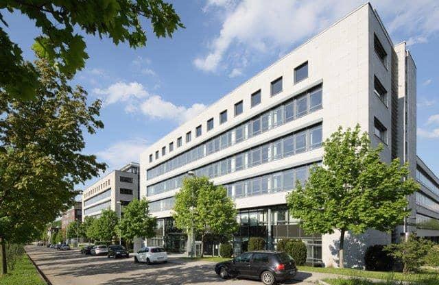 Industriegebäude im Stuttgarter Weilimpark.