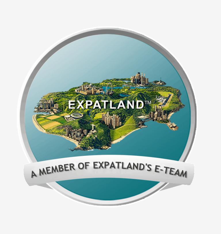 Logo des Expatland Teams.
