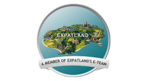 Logo des Expatlands Team.